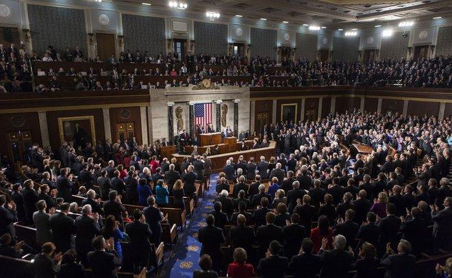 В съезд США внесли законодательный проект озапрете Трампу снимать санкции против РФ