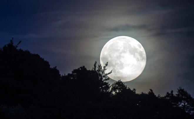 Вночь на4декабря наЗемле наблюдали суперлуние