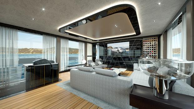 Порш спустила наводу свою первую яхту класса люкс за $16 млн