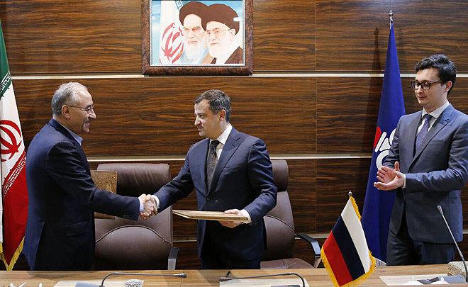 Иран и РФ подписали меморандум осотрудничестве вобласти нефти