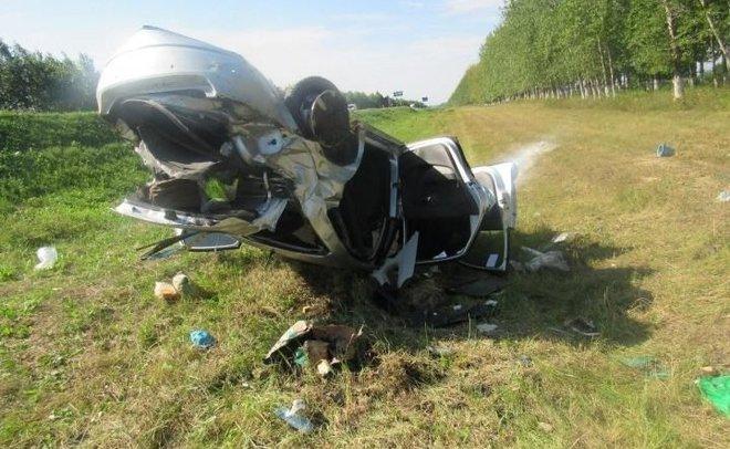 В Татарстане при аварии на трассе погиб ребенок