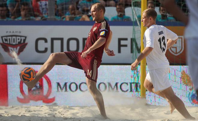 Сборная РФ непрошла начемпионат мира попляжному футболу