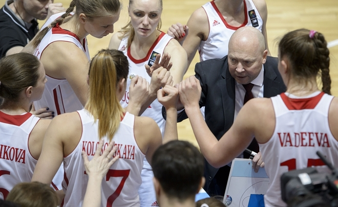 Русские баскетболистки сыграют сЛатвией иБельгией начемпионате Европы