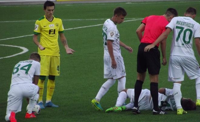 «Рубин» несмог одолеть ввосьмом матче подряд, проиграв «Тереку»