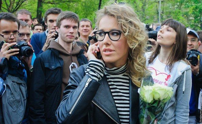 Ксения Собчак сообщила, что референдум вКрыму был фальшивым