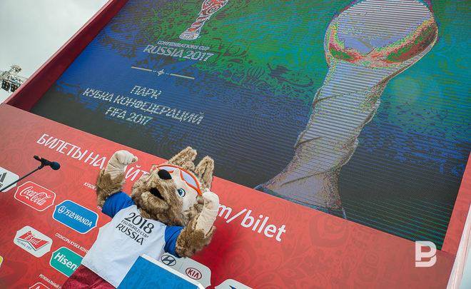Настадионе Kazan-Arena появится скульптура волка Забиваки