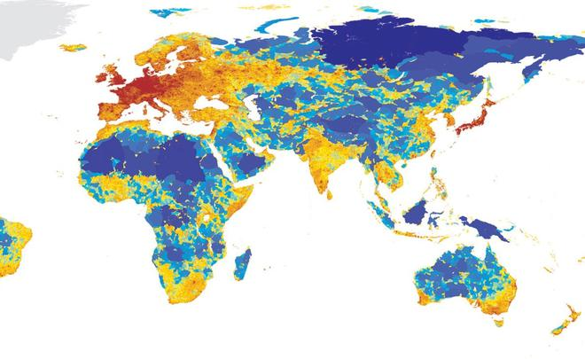 Сибирь угодила во«Всемирную карту бездорожья»