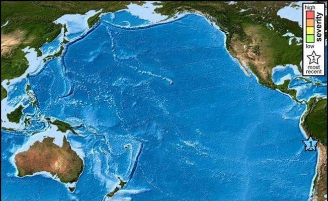 В Перу объявили угрозу цунами после мощного землетрясения