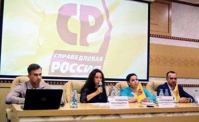 «Справедливая Россия» претендует на 5—10 процентов мест в Госсовете РТ шестого созыва