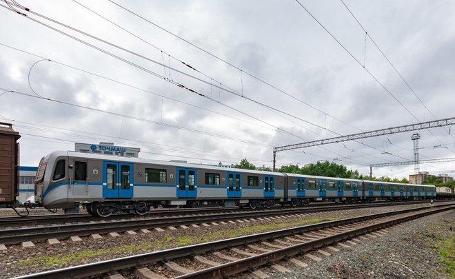 У Казанского метрополитена появился поезд метро с защитой от распространения COVID-19
