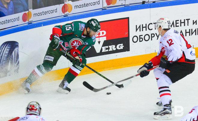 Дубль Зарипова принес «Магнитке» победу над «АкБарсом» втретьем матче серии