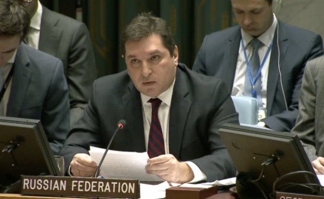 РФ ворганизации ООН обвинила США впособничестве террористам