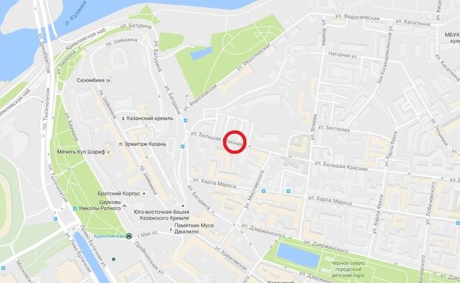 Улица огромная Красная вКазани временно закрывается для движения авто