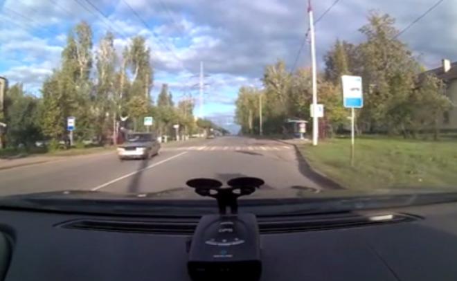 ВЗеленодольске нетрезвый шофёр сбил 2-х молодых людей и исчез