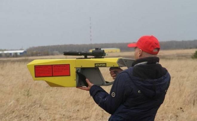 В РФ создано ружье для борьбы сбеспилотниками
