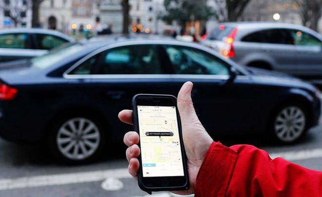Сервис такси Uber сказал  о собственных  доходах