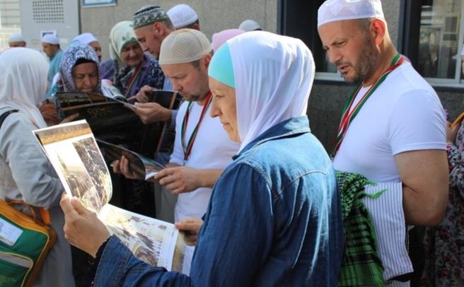 В2017 вхадж смогут отправиться 20 500 русских  мусульман