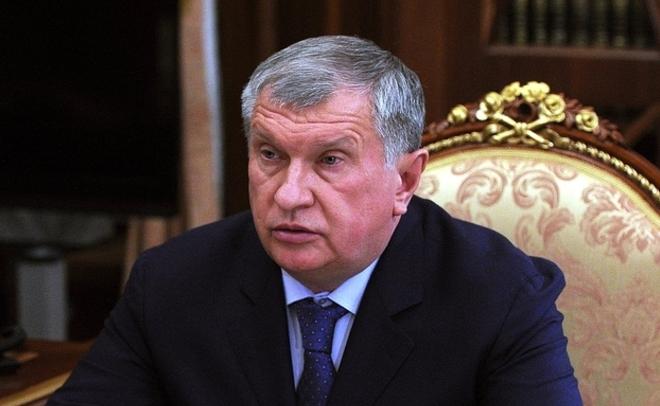 Сечин раскрыл Путину объем вложений денег «Роснефти» по результатам 2016 года