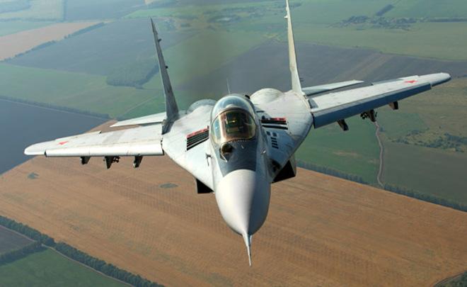 СМИ проинформировали о крушении русского истребителя МиГ-29 вСредиземном море