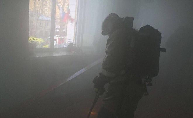 Неменее 200 детей эвакуировано из-за пожара вказанской школе