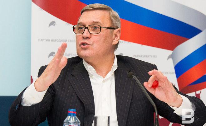 Касьянов объявил оподдержке кандидата впрезиденты переходного периода
