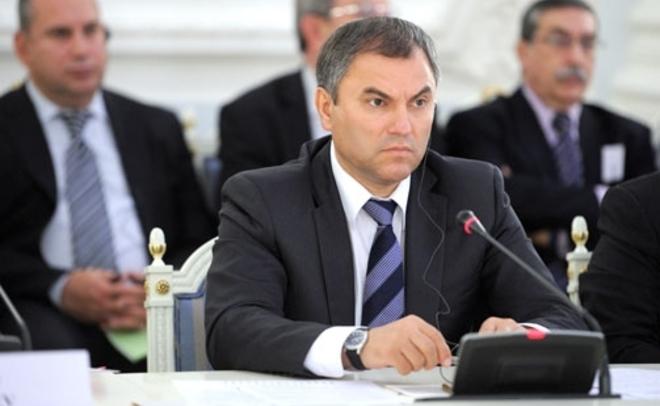 Председатель Государственной думы РФВячеслав Володин посетит Татарстан 13февраля