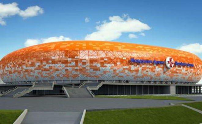 Стадион вСаранске получил разрешение наввод вэксплуатацию