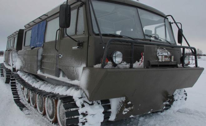 ВАрктике начались тестирования новоиспеченной военной техникиРФ