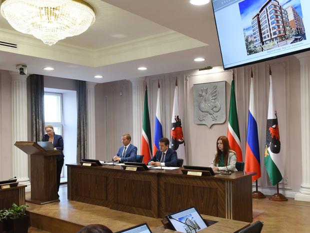 ВКазани представили 12 проектов зданий для территории исторического поселения