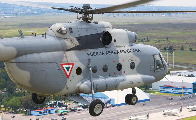 РФиМексика обсуждают контракт наремонт вертолетов Ми-17