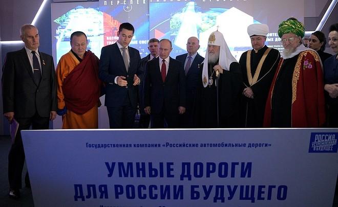 Путину поведали  озапуске беспилотного транспорта между Петербургом иМосквой