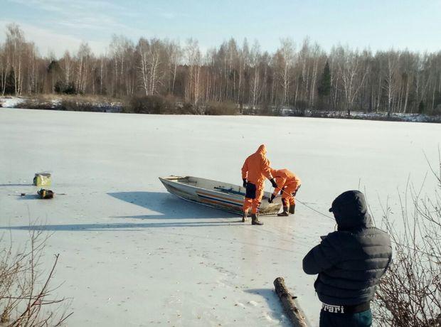 ВТатарстане спасателям довелось вырубать изо льда нареке тело пенсионера