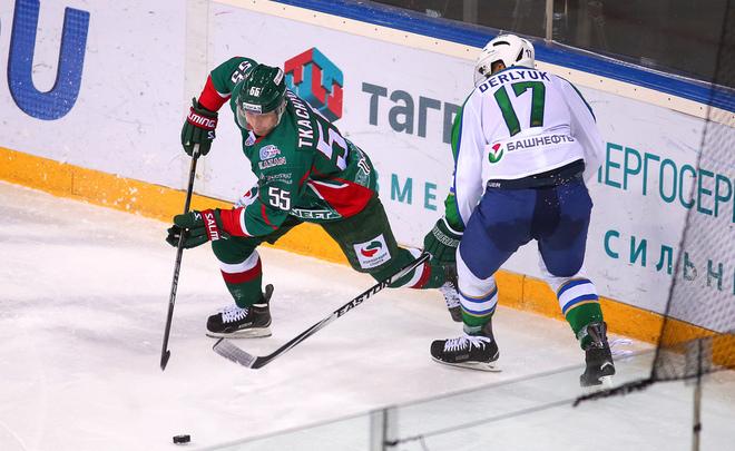 «АкБарс» крупно одержал победу умосковского «Динамо» вчемпионате КХЛ