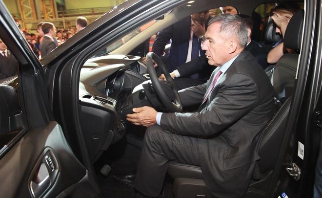 Форд Sollers запустил серийное производство Форд Kuga в РФ