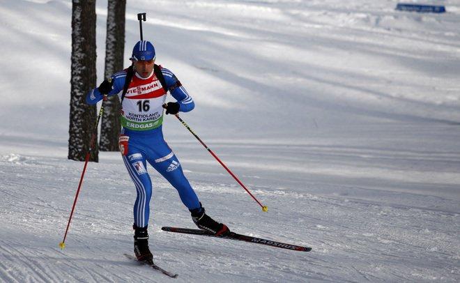 Шипулин одержал победу  гонку наэтапе Кубка мира побиатлону