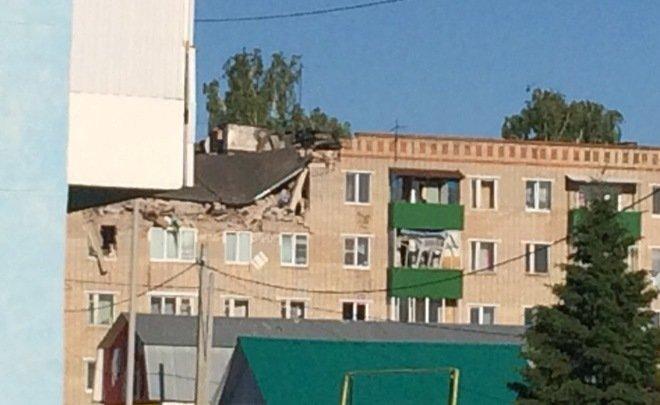 ВЗаинске из-за хлопка газа случилось обрушение жилого дома, есть пострадавшие