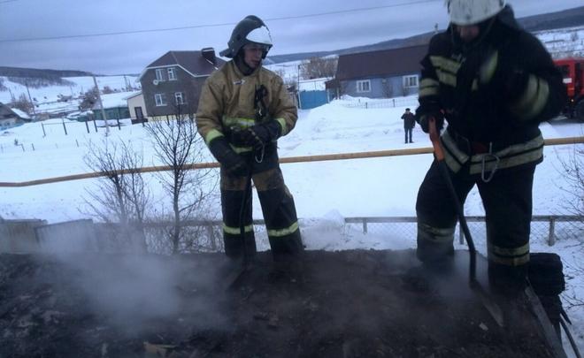 ВТатарстане горела будка охранника, умер один человек