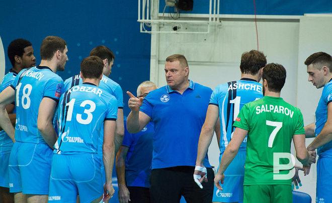 Казанский «Зенит» победил волейбольный «Кузбасс» вматче чемпионата Российской Федерации