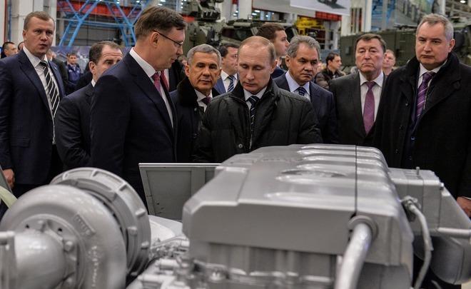 Путин: задание гособоронзаказа вследующем году  было выполнено на97%