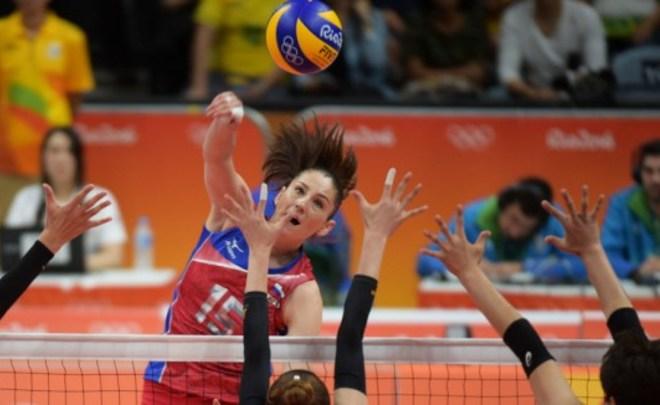 Волейболистки сборнойРФ обыграли команду Южной Кореи вматче олимпийского турнира