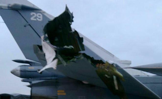 Обнародованы фото поврежденных самолетов наавиабазе Хмеймим