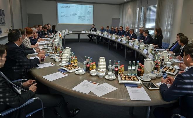 Рустам Минниханов пригласил вТатарстан уполномченных Германии для оценки перспектив сотрудничества