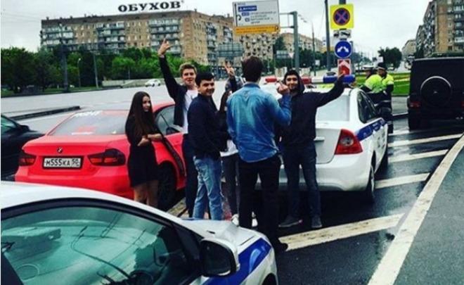 Сына вице-президента ЛУКОЙЛа за гонки с ДПС оштрафовали