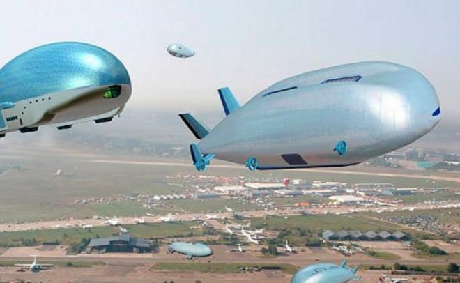 Совбез предложил сделать транспортную систему сдирижаблями