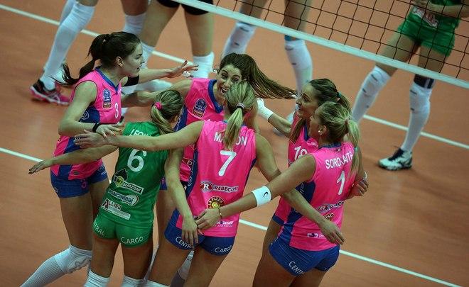 Волейболистки «Динамо»— вполуфинале чемпионата РФ