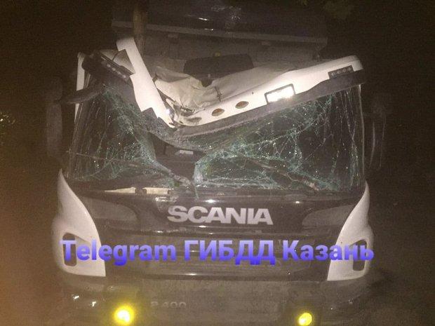 В Казани произошло семь аварий с пострадавшими