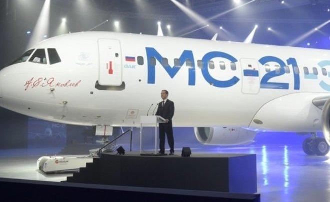 Окончено строительство 2-го опытного самолета МС-21