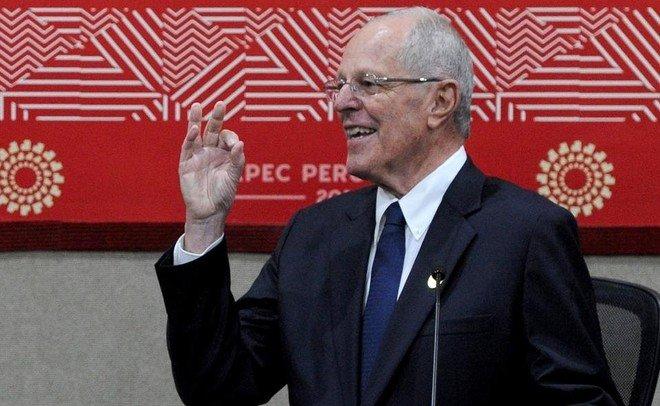 Президент Перу направил парламенту прошение оботставке