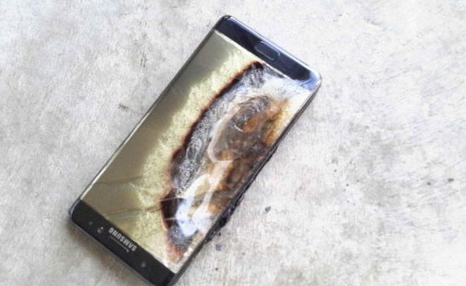 Самсунг  готова назвать причину взрывов Galaxy Note7