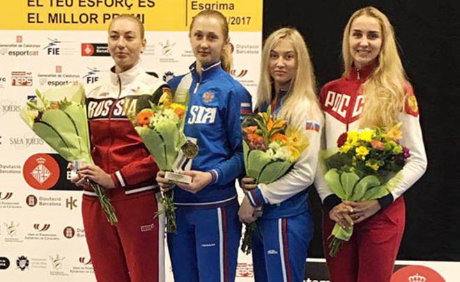 Русские шпажистки стали бронзовыми призерами этапа Кубка мира, рапиристы стали пятыми